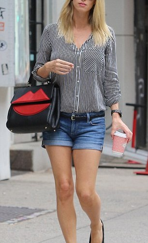 PHOTOS:   Nicky Hilton appears super slim in NYC after just a week giving birth