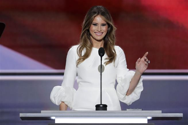 Melania Trump totally stole one of Michelle Obama 's speeches at the RNC