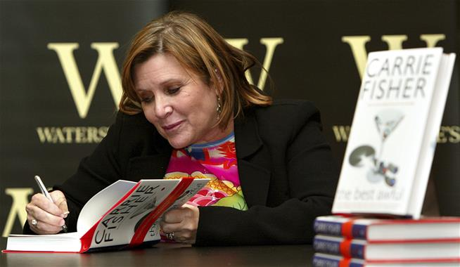 Carrie Fisher 's books are now the hottest thing in the world right now
