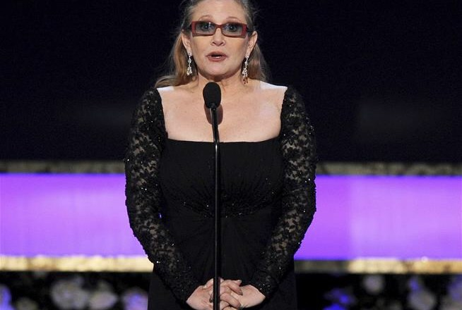 Carrie Fisher in stable condition