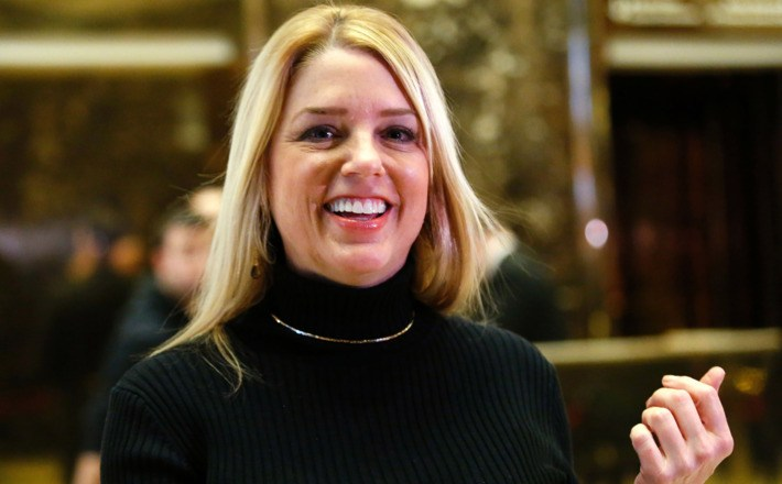 Trump bought off Pam Bondi to avoid fraud investigation, now she gets job