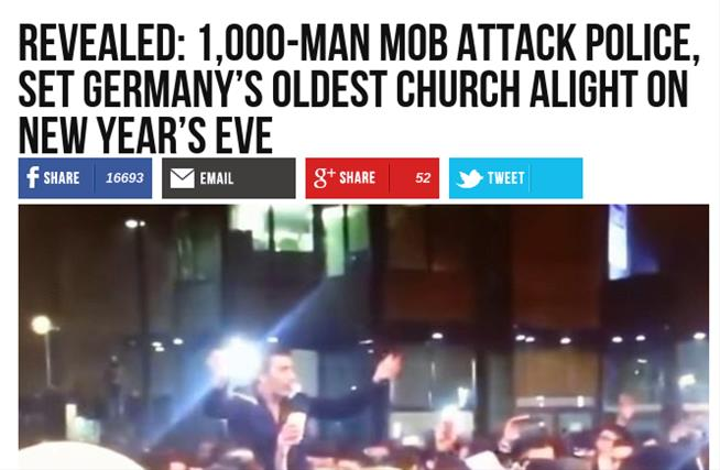 @BreitbartNews  made a fake news report about Germany