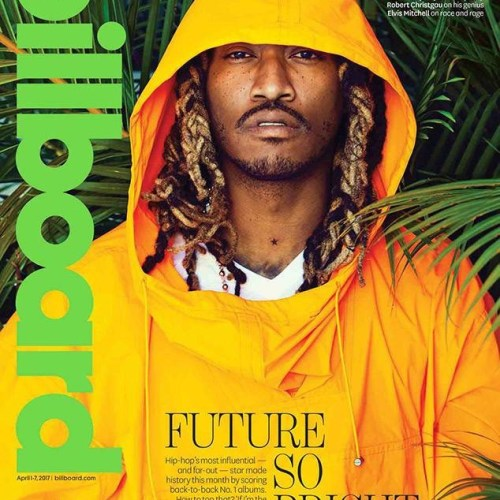Rapper Future covers Billboard magazine