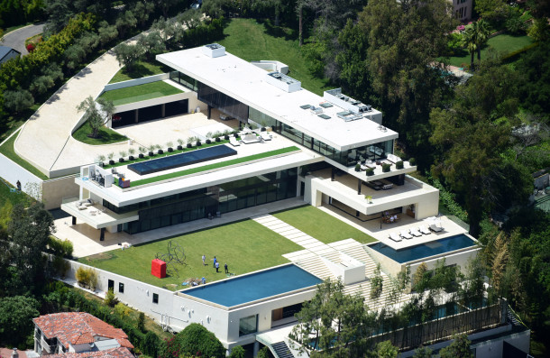 Beyonce & Jay-Z just put in a $120M bid for this sprawling Bel-Air palatial palace