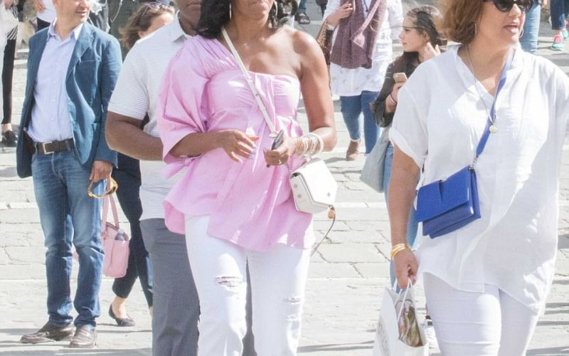 The Obama 's are on a lavish vacation in Italy
