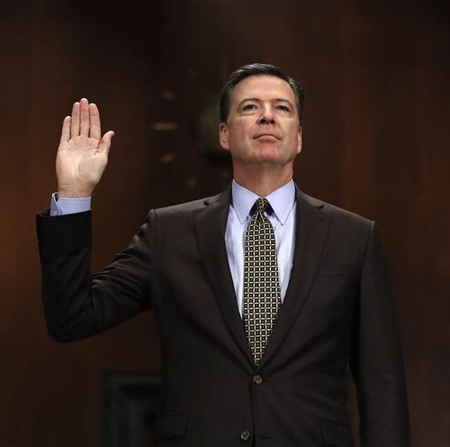 READ IT: The letter from U.S President Donald Trump on firing James Comey