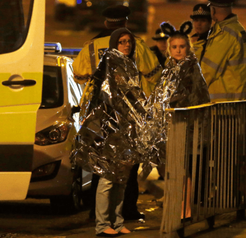 America shouldn't of leaked the Manchester bomber's name