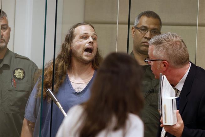 "Portland suspect Jeremy Christian ""What I did Was Patriotism"""