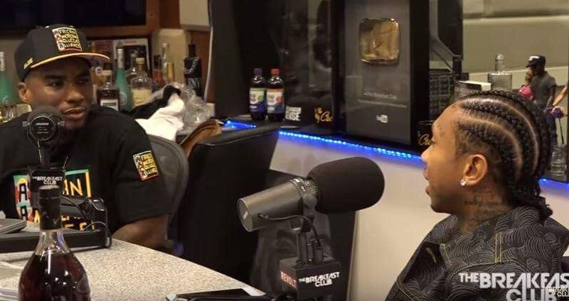 Tyga talks Kylie Jenner; Warning Rob, and more in Breakfast Club interview