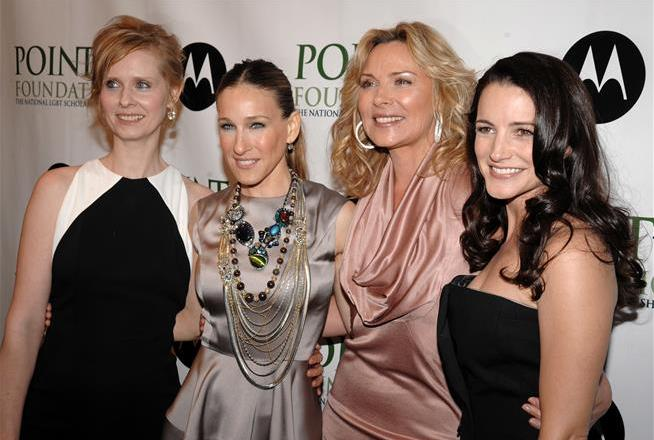Kim Cattrall apparently isn't friends with Sarah Jessica Parker anymore