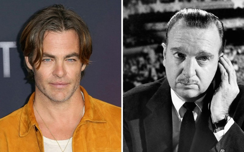 News: Chris Pine to play Walter Cronkite in JFK drama