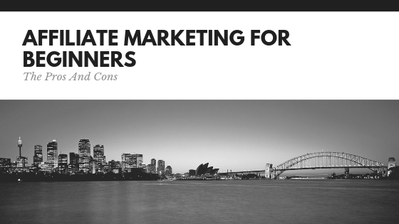Affiliate Marketing For Beginners: Pros And Cons