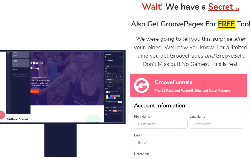 How To Get GroovePages For Free
