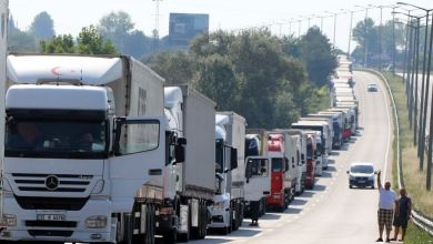 Turkey exports $42B West via road transport 7