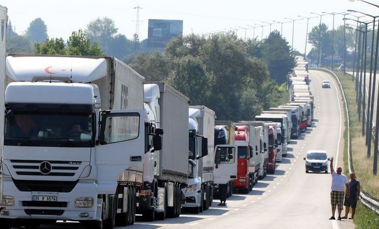 Turkey exports $42B West via road transport 1