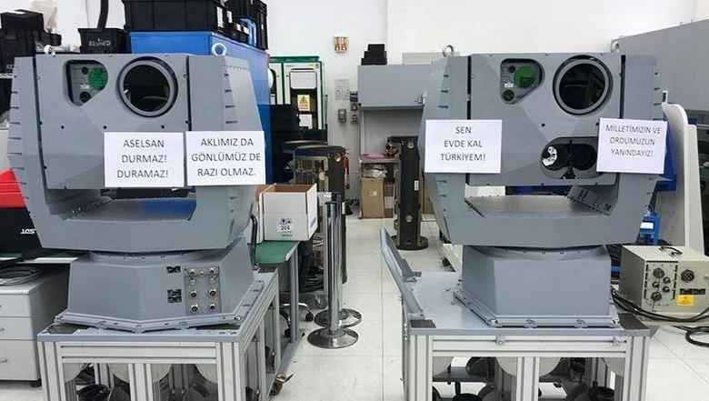 Turkish defense giant produces electro-optical system 1