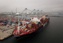 DP World Yarimca port in Kocaeli hosts one of world's biggest container ships 2
