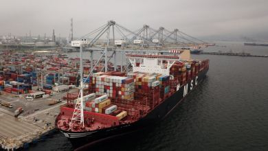 Photo of DP World Yarimca port in Kocaeli hosts one of world's biggest container ships