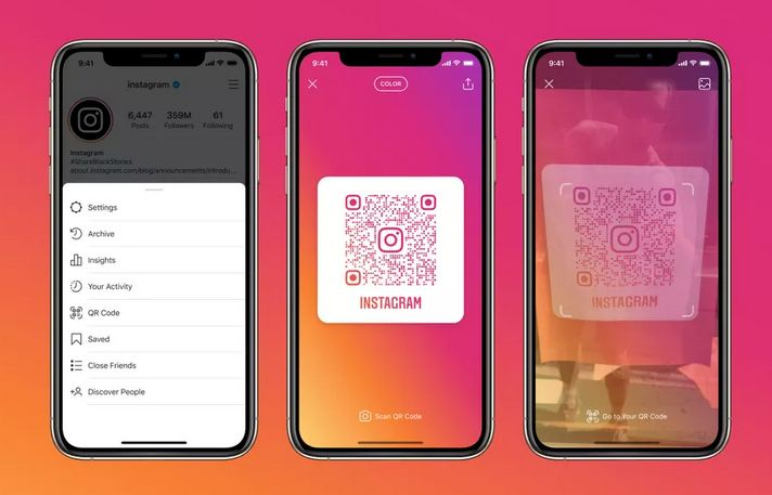 Instagram launches QR codes globally, letting people open a profile from any camera app 1