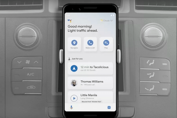 Google Assistant Driving Mode appears to be coming to Android at last 1