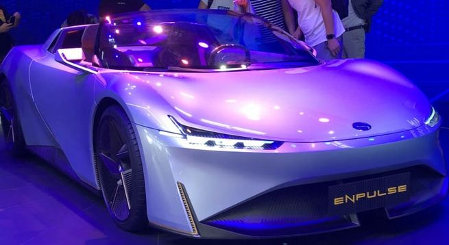 Chinese automakers show off concept sportscars, amid auto market slump 1