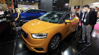 TRNC's domestic car 'Gunsel' was presented in MUSIAD EXPO 6