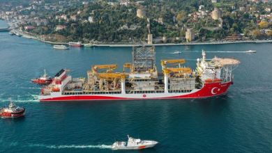 Kanuni drillship sets sail for Black Sea: Energy Min. 28