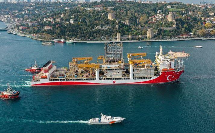 Kanuni drillship sets sail for Black Sea: Energy Min. 1