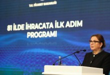We are launching our First Step to Export in 81 Provinces Program: Pekcan, Trade Minister 2