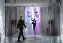 LG developing sliding doors made of transparent OLED displays 11