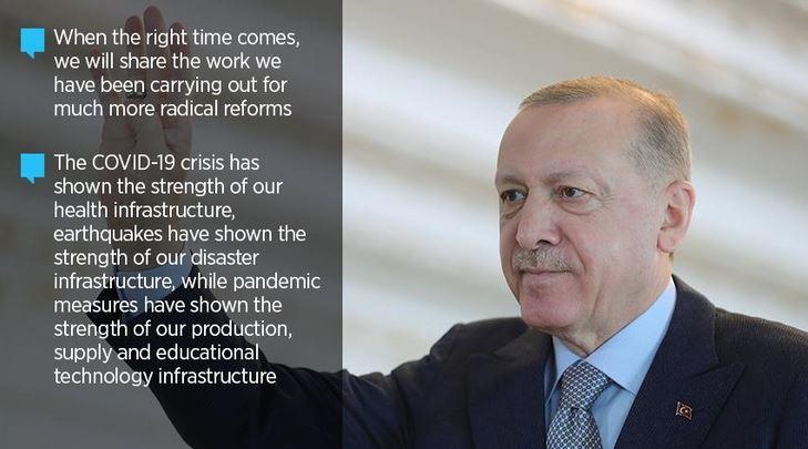 Erdogan to announce 'more radical reforms 1