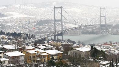 Snow warning in Istanbul from Meteorology; It will snow between 20-40 cm 24
