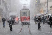 The first snow of the year will fall on Istanbul between 18-22 January 19