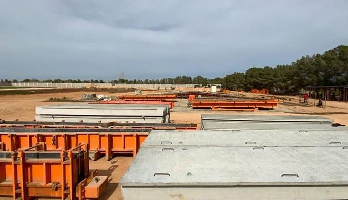 Turkish firm sets up Libya's largest concrete factory 1