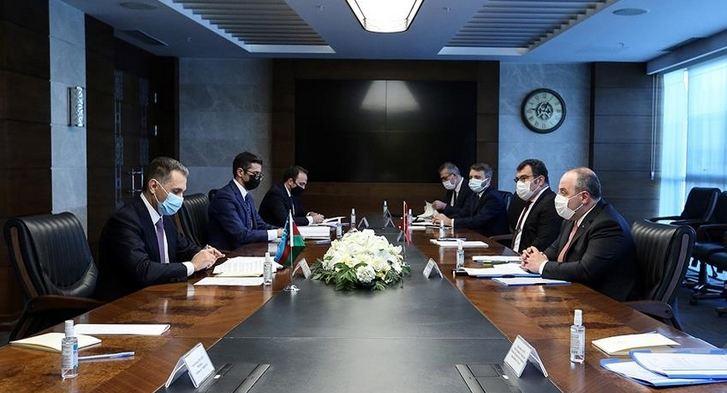 Turkey, Azerbaijan talk space, rail cooperation 1