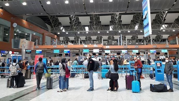 Turkish airports see 5.2M passengers in January 1