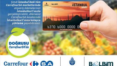 Istanbulkart started to be used for shopping at CarrefourSA 25
