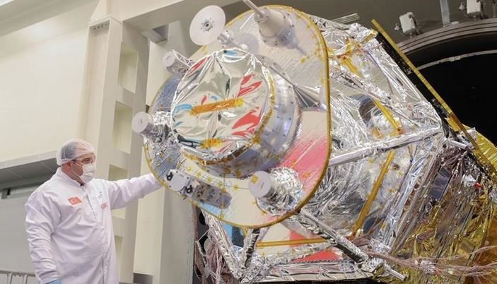 Turkey's new observation satellite near finish line 1