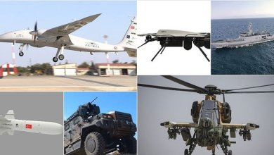 Turkey's defense and aviation exports reached approximately $1 billion, USA ranked first 8