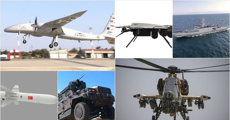 Turkey's defense and aviation exports reached approximately $1 billion, USA ranked first 1
