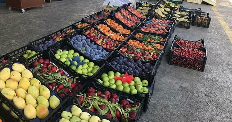Turkey's fresh fruit and vegetable exports increased by 70% in April 1