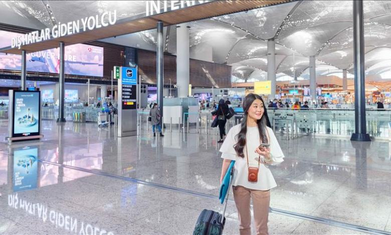 The number of charging units offered to passengers at Istanbul Airport has been increased 1