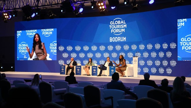 Tourism leaders met in Bodrum with the Global Tourism Forum Bodrum Summit 1