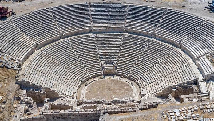 2,200-year-old theater brought back to life in southwestern Turkey 1