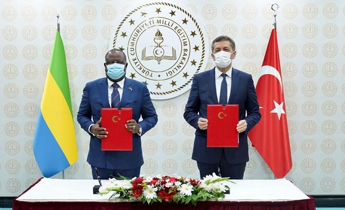 Turkey, Gabon sign MoUs on cooperation in education 1