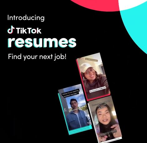 TikTok Launches 'Resumes' To Help Connect Candidates With Job Opportunities 1