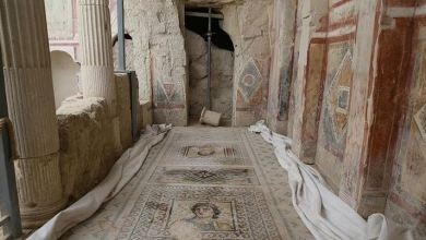Roman-era 'House of Muses' to open to visitors in Turkey 6