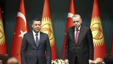 Turkish president discusses bilateral ties with Kyrgyz counterpart 4