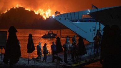 Greece battles wildfires for fifth day in 'nightmarish summer' 6