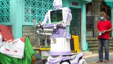 Indonesian village turns unwanted trash into COVID helper 8